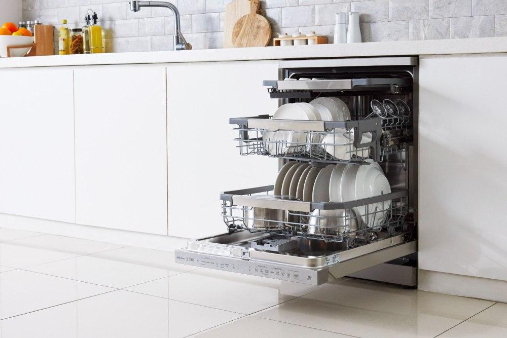 Smart e innovative le lavastoviglie LG QuadWash