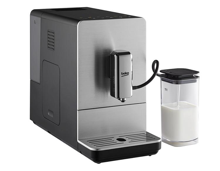 Macchina del caffè con montalatte integrato