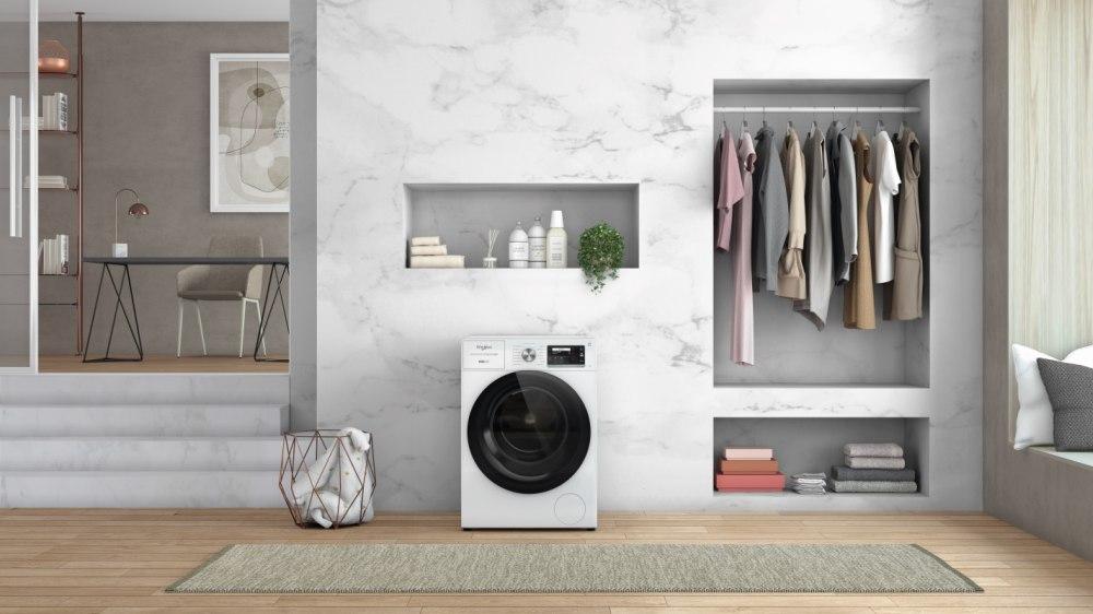Lavaggio molto silenzioso con le lavatrici Whirlpool Supreme Silence