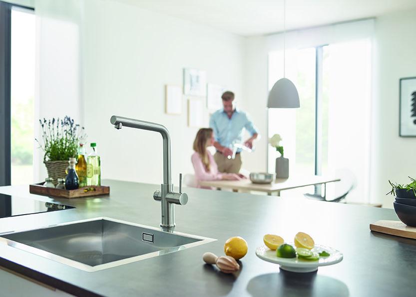 Bonus acqua potabile: i sistemi di filtrazione Grohe Blue