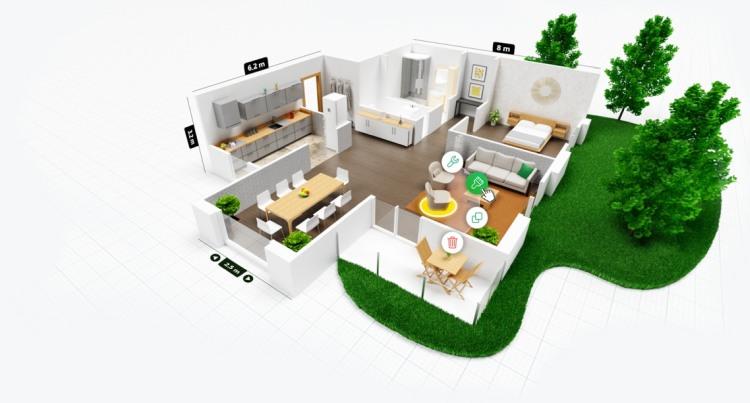 Arredare casa con App planner 5d