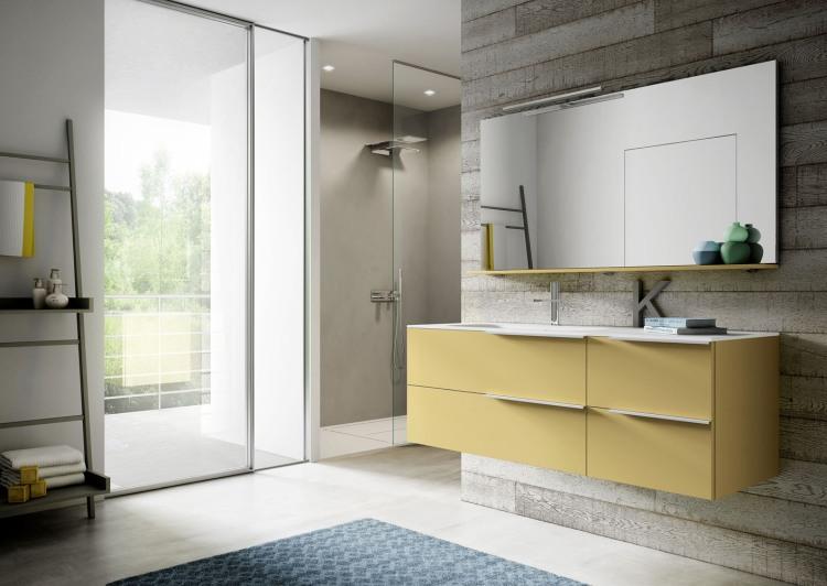 Bagno moderno e contemporaneo: mobili per spazi polifunzionali